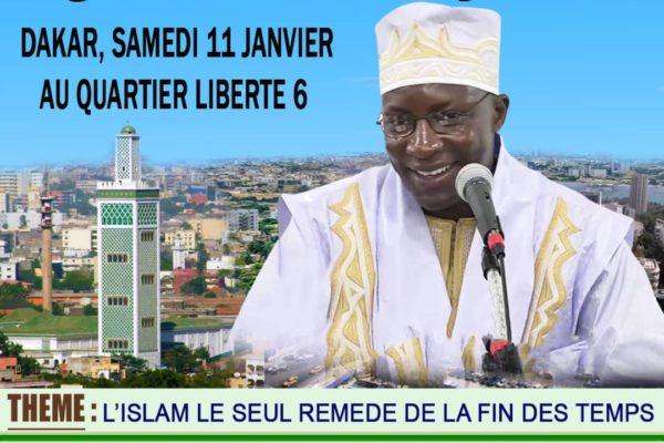 Tournée nationale: Dakar, le 11 Janvier 2020