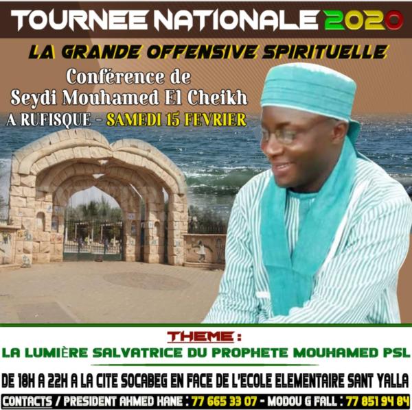 Tournée nationale: Rufisque, le 15 Février 2020
