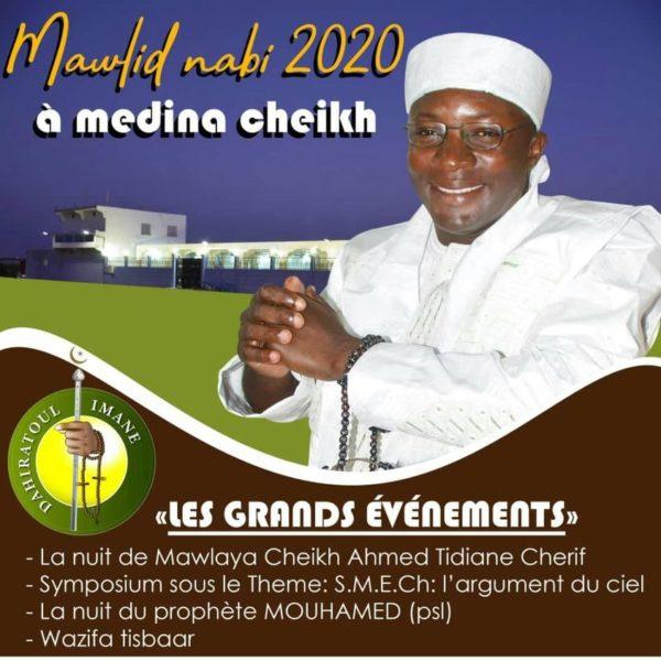 Mawloud 2020 à MedinaCheikh